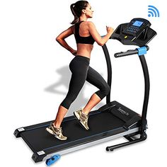 Convenient Folding Treadmill for Easy Setup & Storage. Treadmill Motor Power: Get Connected with the 'iFitShow' App. The 'iFitshow' App Digital Audio Playback via USB Flash & SD Card Readers. Incline Treadmill, Foldable Treadmill, Home Treadmill, Folding Treadmill, Cardio At Home, Treadmill Workouts, Running Machines, Workout Machines, Exercise Machine