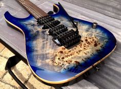 Guitar Case, Cool Guitar, Guitar Images, Ibanez, Cerulean, Bass, Pearl, Stainless Steel, Watches