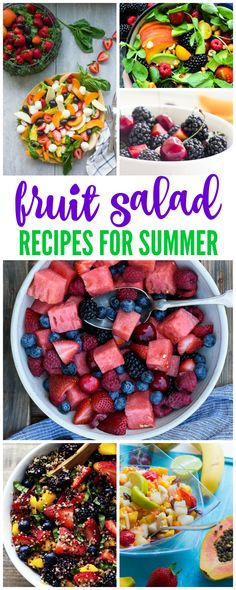I have 15 Delicious Fruit Salad Recipes for Summer for you to check out today! These delicious recipes will be the hit of any party, so be sure to try them out!