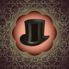 Hat background free vector 01
