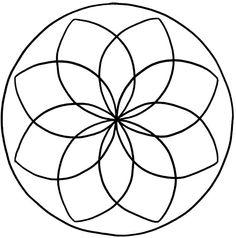 Mandalas zum Ausdrucken Radial Pattern, Copper Paint, Elderly Activities, String Art, Beaded Earrings, Animal Crossing, Colored Pencils, My Drawings, Coloring Pages