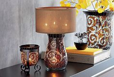 Amaretto Swirl Multi Tealight Lamp  #PartyLite #candles http://eliciaorsbourn.partylite.co.uk Facebook Page: PartyLite by Elicia