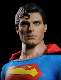 Superman Christopher Reeve sixth scale figure by Hot Toys Evil Superman, Superman Red Son, Superman Movies, Superman Family, Superman Man Of Steel, Batman Vs Superman, Adam West Batman, Christopher Reeve Superman, Marvel Comics