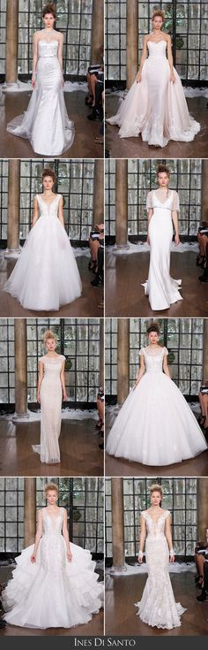 Ines di Santo: Fall/Winter 2015 Collection | available locally at The Bridal Salon at Neiman Marcus #wedding #bridalgown #weddingdress #inesdisanto