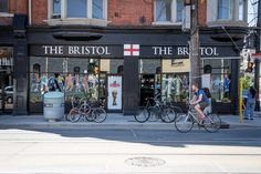 The Bristol - Awesome British pub in Toronto. So happy my black pudding fix is now only up the street!