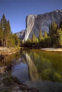El Capitan Reflection, Yosemite National Park