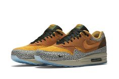 "Nike Air Max 1 ""Safari"" (atmos) Release Info/Detailed Pics - EU Kicks: Sneaker Magazine"