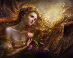 feeling like i'm looking to AURORA : goddess of the dawn, renews herself every…