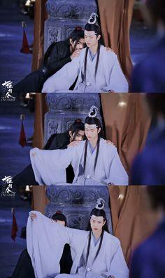 The Untamed - 💙♥️ - Wattpad Dramas, Manhwa, Min Yoonji, Cute Asian Guys, Vkook, The Grandmaster, Chinese Boy, Cute Gay, Fujoshi
