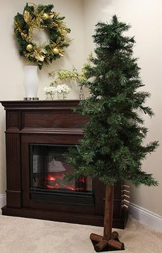 NorthLight 6 ft Woodland Alpine Artificial Christmas Tree44 Unlit ** This is an Amazon Affiliate link. Click on the image for additional details.