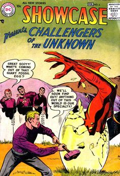 Showcase Presents The Challengers Of The Unknown #6