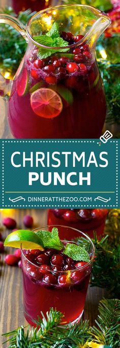 Holiday Drinks Cranberry Christmas Cocktails 36 Ideas For 2019 Non Alcoholic Drinks, Fun Drinks, Yummy Drinks, Non Alcoholic Christmas Drinks, Adult Holiday Drinks, Hard Drinks, Beverages, Cranberry Punch Recipes Non Alcoholic, Pomegranate Punch Recipes