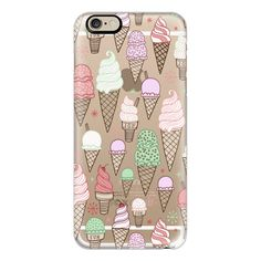 iPhone 6 Plus/6/5/5s/5c Case - Ice Cream Cones! ($40) ❤ liked on Polyvore