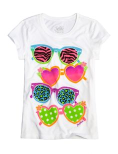 Sunglasses Graphic Tee | Girls {category} {parent_category} | Shop Justice