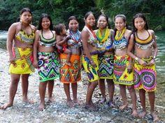 ETNIAS INDIGENAS: Mujeres Embera
