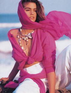 Vanity Fair Aug 1994 - Cindy Crawford by Herb Ritts