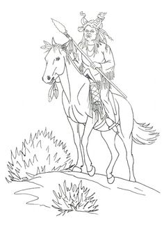 native american designs coloring pages horse coloring page of native american medicine man