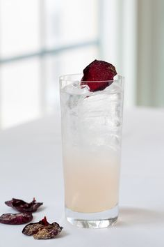 rose rickey cocktail