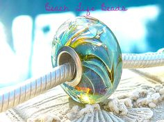 EXTREME RIPCURL OPAL Fully Lined Sterling Silver by beachlifebeads, $25.00