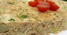 Tortilla de atún y patata olla GM. con thermomix,