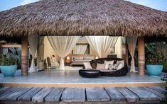 - Forest Maganda Hand-Scratched Lock Engineered Bamboo - 3 / x - 100378504 Villas, Beachfront Rentals, Bamboo House Design, Resort Plan, Hut House, Beach House Plans, Beach Bungalows, Thatched Roof, Resort Villa