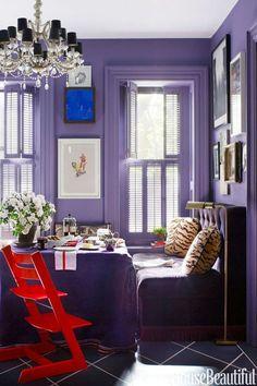 91 desirable purple home decor images house house beautiful my rh pinterest com