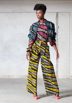 ♥Vlisco Funky Grooves Fashion