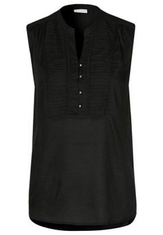 FONIA - Tunic - black Fashion Online, Fashion Shoes, Tunic, Black, Tops, Women, Robe, Black People, Shell Tops