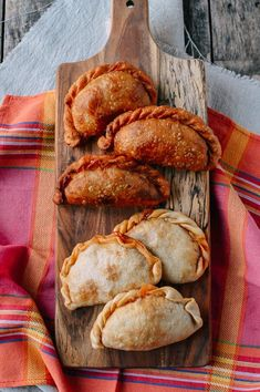 A Beef & Cheese Empanada Recipe: Baked or Fried | The Woks of Life
