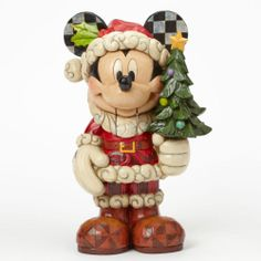 Disney Jim Shore Christmas Large Nutcracker Mickey Mouse Figure New 2014   eBay