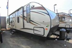 2016 New Forest River CASCADE Travel Trailer in Washington WA.Recreational Vehicle, rv, 2016 FOREST RIVER CASCADE, This new 2016 Forest River Cascade 274RK is equipped with one slide out, a cozy sleeper sofa, 2 lounge chairs and space for an LCD TV in the living area. In addition, there is a booth for dining, entertaining and additional sleeping quarters. The kitchen is equipped with a high gloss seamless counter top, deep pantry for storage, double bowl under-mount sink, drop in cook top…