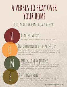 4 Verses to pray over your home during the holidays Prayer Scriptures, Bible Prayers, Faith Prayer, Prayer Quotes, My Prayer, Moms In Prayer, Marriage Bible Verses, Prayer Closet, Prayer Room