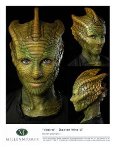 Vastra doctor who Millenium FX | Cosplay - Special Effects Makeup | Pinterest | Best Cosplay ideas