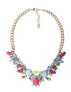 Stradivarius Stonework necklace