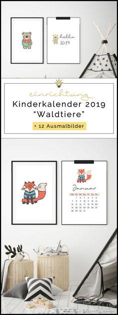 kalender 2019 zum ausdrucken gratis vorlagen zum download. Black Bedroom Furniture Sets. Home Design Ideas