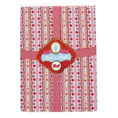 Folklore Ribbon Fitted Sheet - Pink - King