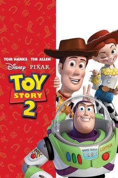 Toy Story 2 [1999] directed by John Lasseter, featuring the voices of Tom Hanks, Tim Allen, Joan Cusack, Kelsey Grammer, Don Rickles, Jim Varney, Wallace Shawn, John Ratzenberger, Annie Potts, Wayne Knight, John Morris, Laurie Metcalf, Estelle Harris, R. Lee Ermey, Jodi Benson, Jonathan Harris, Joe Ranft, Andrew Stanton, and Jeff Pidgeon.