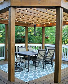 pergola string lights set a romantic mood in your backyard page 2