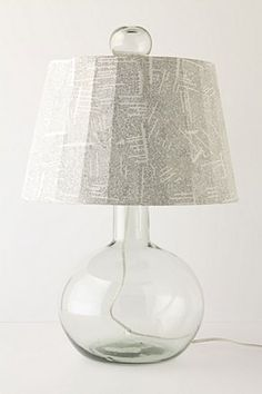 Anthropology lamp, we can totally DIY this for your library @Amalauna Brock.