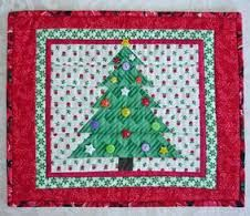 christmas tree placemat design