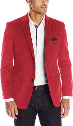 4ff1c8c5 U.S. Polo Assn. Men's Corduroy Sport Coat, Ram1016j Red, 44 Long at Amazon  Men's Clothing store:
