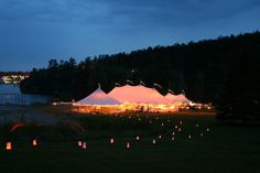 Southern Weddings - Sperry Tents - http://wedsafe.com