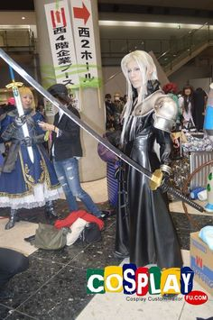 Sephiroth Cosplay from Final Fantasy in Winter Comiket 83 2012 Tokyo Sephiroth Cosplay, Final Fantasy Cosplay, Cosplay Costumes, Finals, Tokyo, Winter, Winter Time, Tokyo Japan, Final Exams