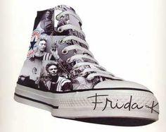Frida Kahlo HIgh Top Converse