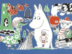 Celebrations begin for Moomintroll and Groke