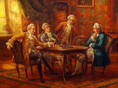famous chess paintings - Google Search