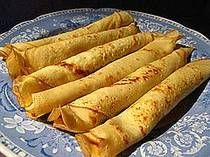 Palacinke (crepes) -- an Eastern European favorite -- I just found a recipe for making low-carb version (for the Specific Carbs diet)! ;)
