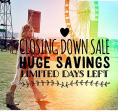 Sadly I am closing down my online store.  As many of you know I started this journey due to being a passionate vegetarian for the last 25 years. I had a love of both Western and Bohemian style boots which I began importing from the U.S. I may still do the odd market here and there to clear stock but for now I'm closing down my online side of things. Grab yourself a bargain while stocks last. A huge thank you to everyone who supported my journey  #vegetarian #vegan #festivalfashion…