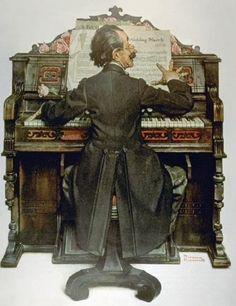 norman rockwell,piano,alkan