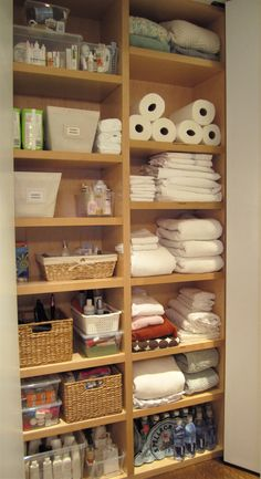 utility + linen closets «